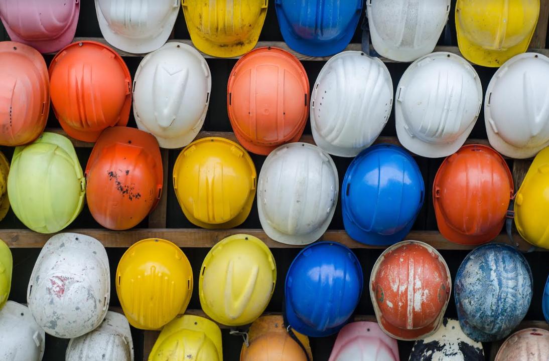 Hard hats - green tech jobs