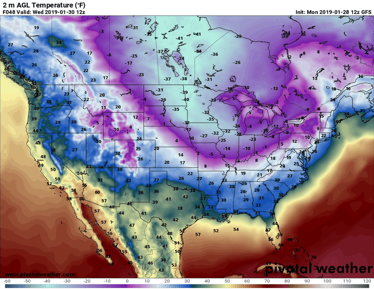 Polar Vortex, driven by climate change, brings arctic freeze to the midwest