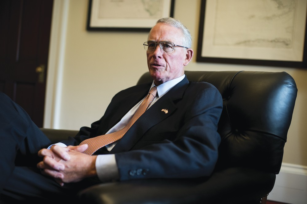 GOPrep Francis Rooney(R-FL) says he accepts climate change science, and is a lead supporter of a carbon tax