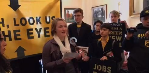 Sunrise Movement on Green New Deal vs Diane Feinstein and Mitch McConnell