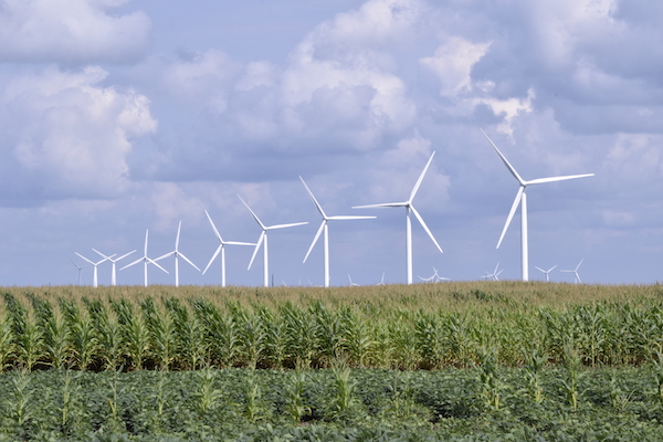 Indiana is know for corn and coal - and wind energy?