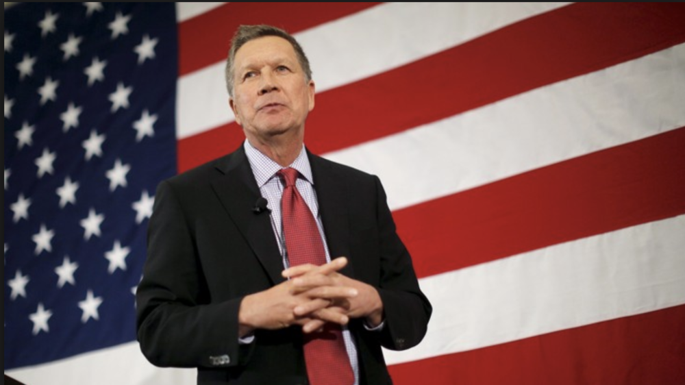Former GOP Gov John Kasich says republicans need to get out of denial and deal with climate change