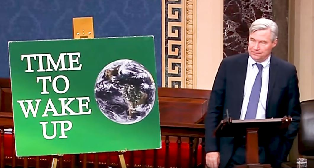 Sen Sheldon Whitehouse - Time to wake up on climate change action