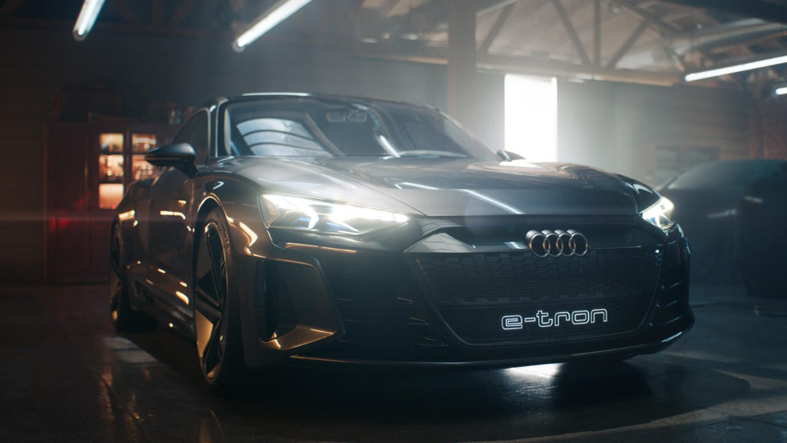 audi e-tron EV concept car super bowl ad