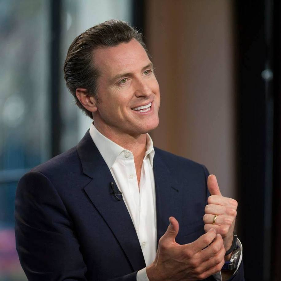 California gov Gavin Newsom supports a partial Delta Tunnels plan