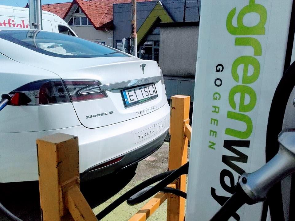 greenway EV charging infrastructure
