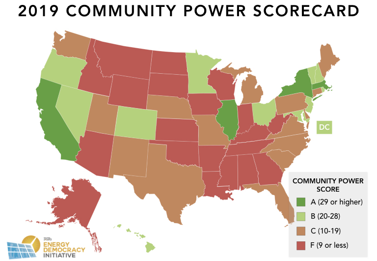 community power scorecard - where does your state rank on clean energy?
