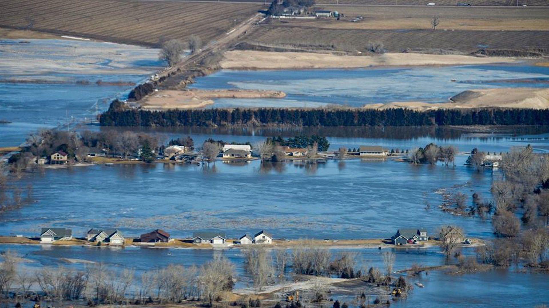 climate change enhanced flooding in nebraska