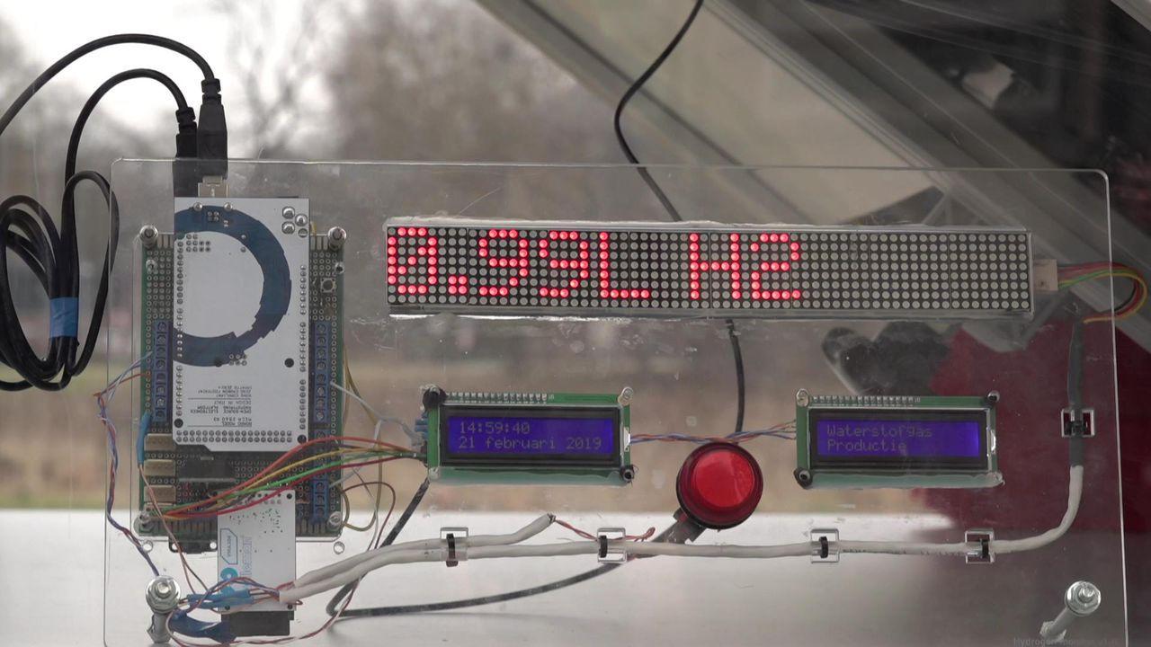hydrogen solar panel