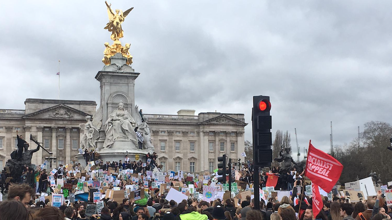 UK protests for youth strike for climate change