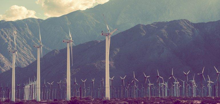 No coal here - idaho wind farm