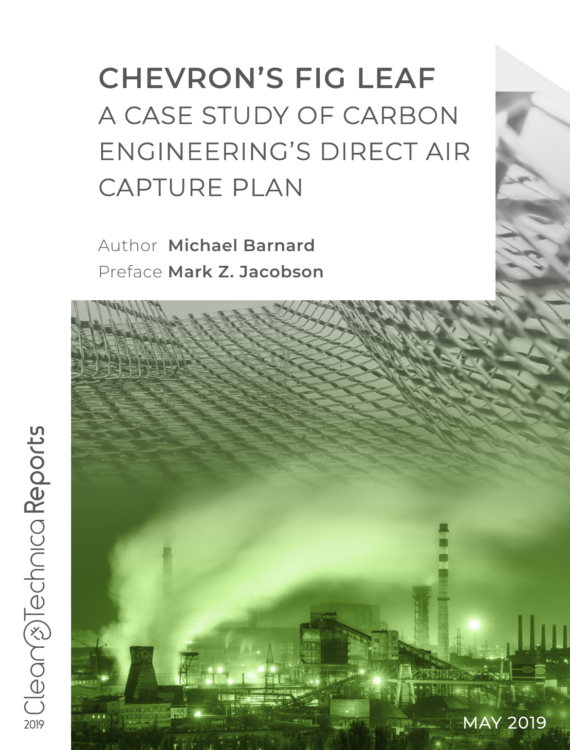 Carbon Capture is a climate change fig leaf - useless until 2050 or longer