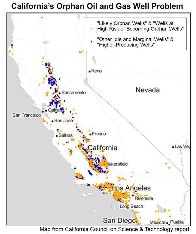drill baby drill - orphan wells to cost california taxpayers $500 billion
