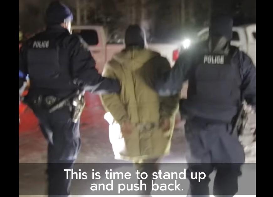tar sands pipeline vs wet'suwet'en indigenous canada