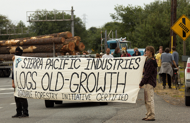 Sierra Pacific Industries logging vs forests