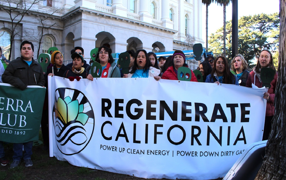 Sierra Club's Regenerate California campaign aims to replace dirty natural gas with clean renewable energy
