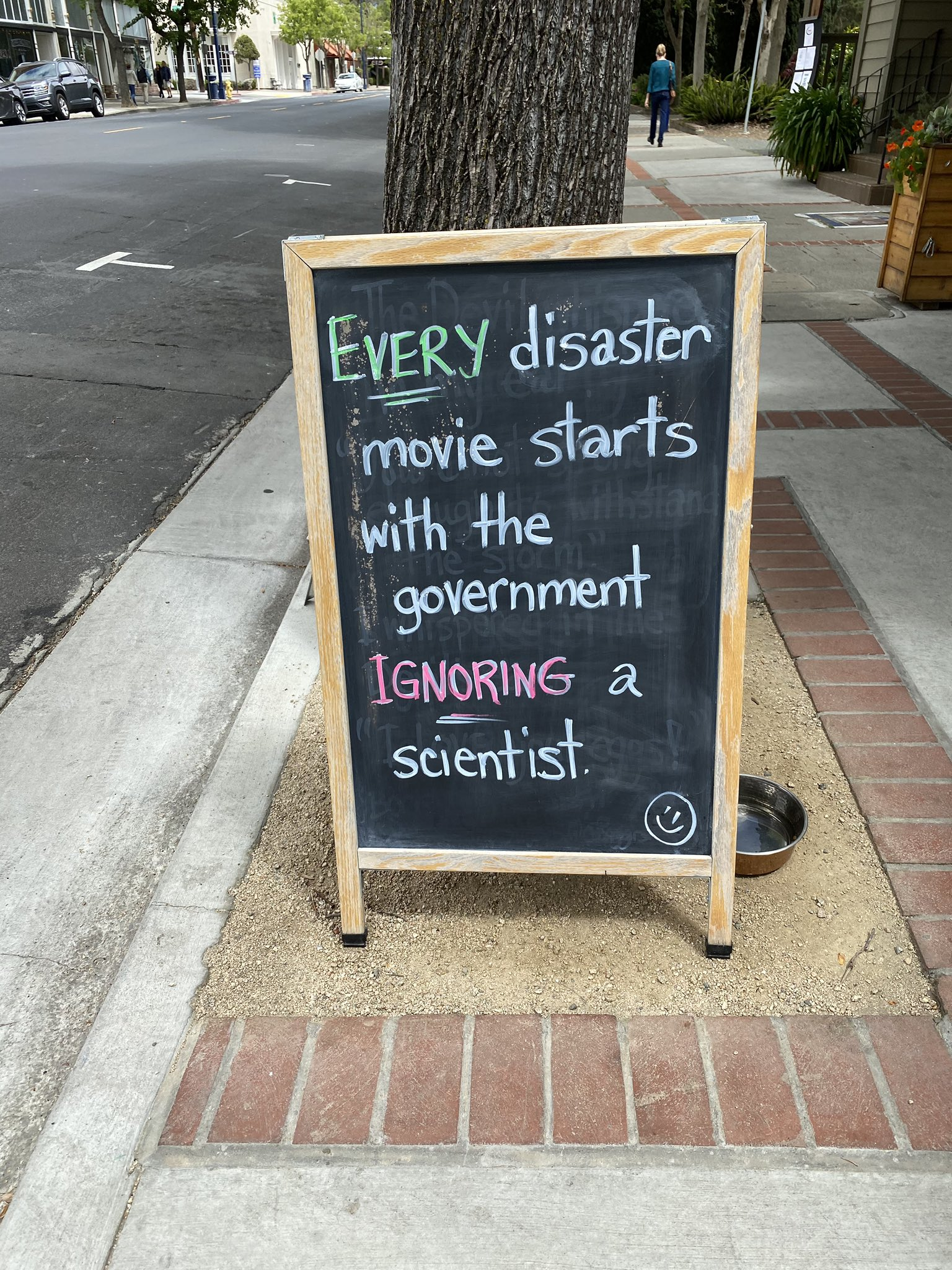 One House Bakery on science and disaster movies