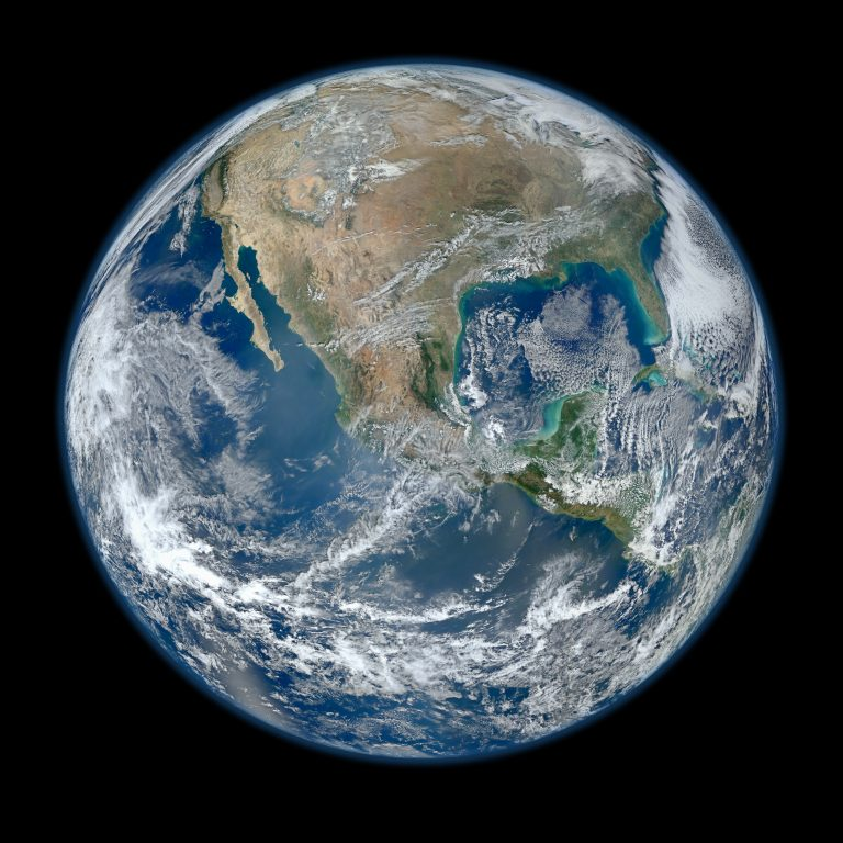 Earth Day photo of North America