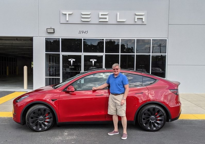 Tesla-Model-Y-Performance-Red-Dick-Amacher-CleanTechnica