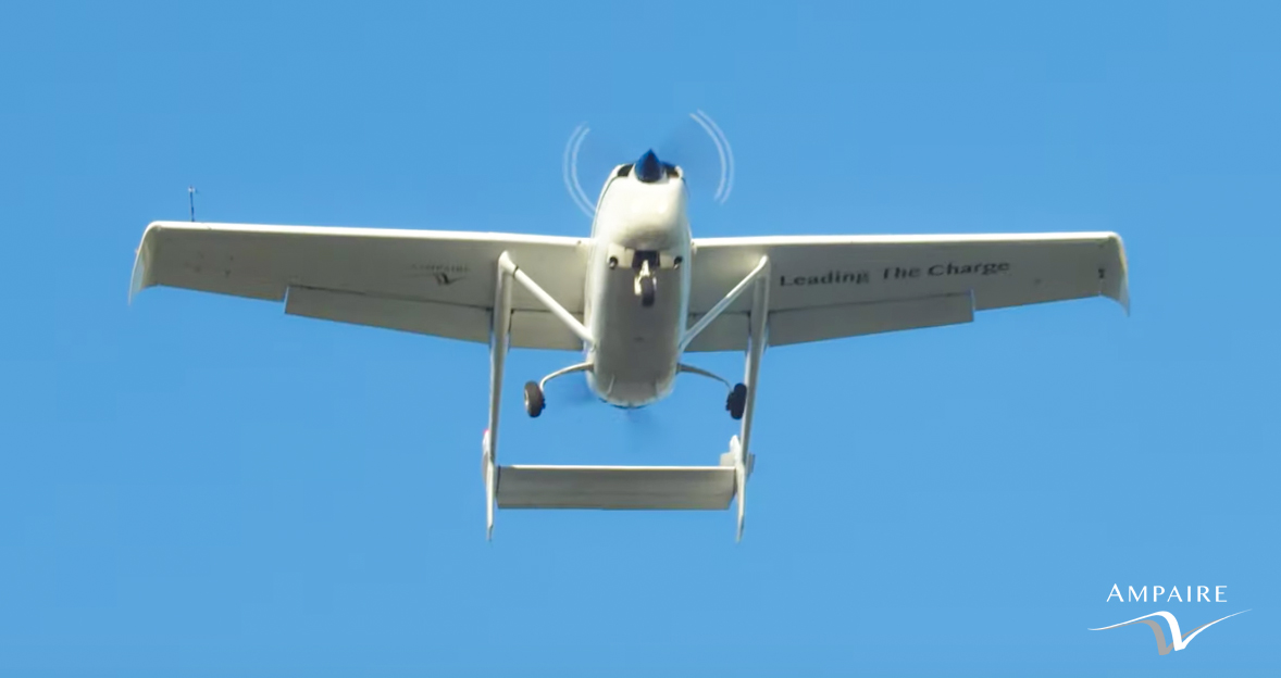 Ampaire EEL Electric Aircraft. Photo credit: Ampaire.