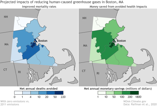 Boston saving lives and money by cutting greenhouse gases