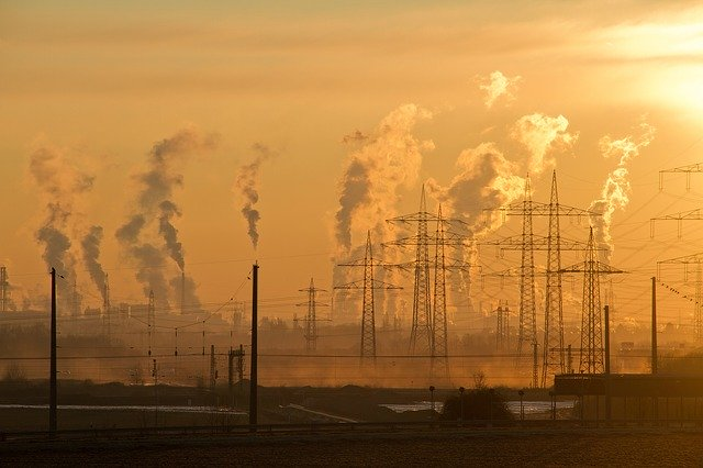 Pollution smog grid electricity