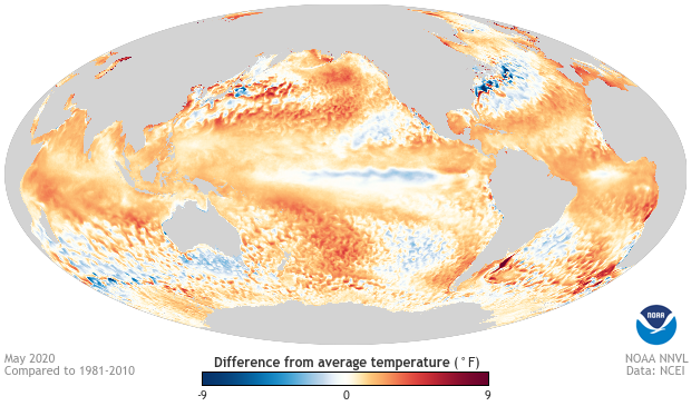 June 2020 ENSO update from NOAA
