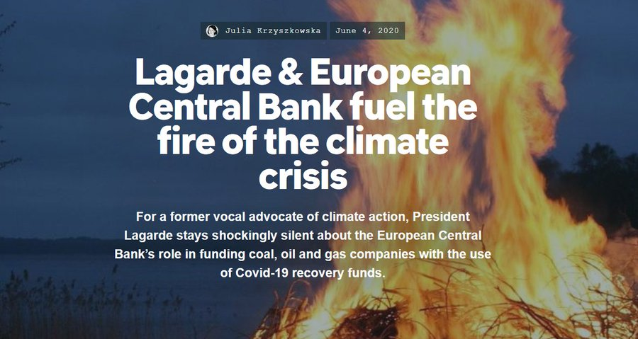 By Pouring Billions Into Fossil Fuel Industry, EU's Central Bank Accused of 'Playing Both Firefighter and Arsonist'