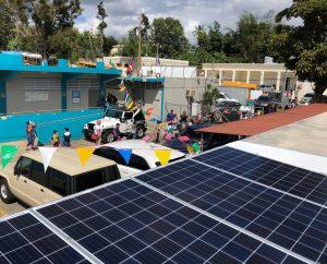 Rocky Mountain Institute sponsored microgrids in Puerto Rico schools - Photo Courtesy of RMI