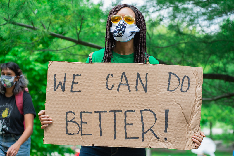 Canada day protest: The power of everyday actions can bring about change