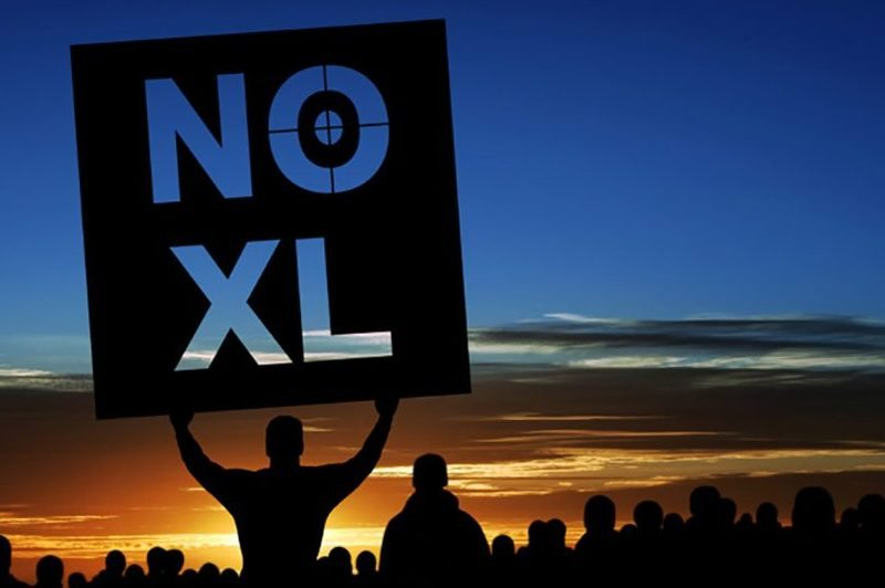 NO KXL - Keystone XL pipeline blocked