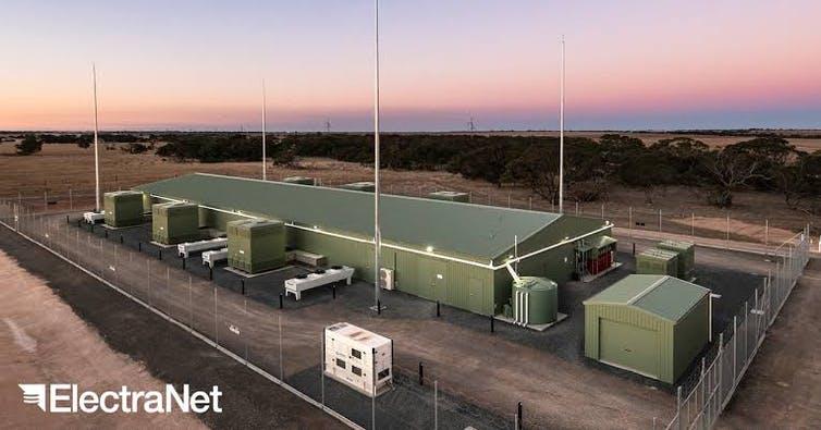 ESCRI battery at Dalrymple in South Australia. https://www.escri-sa.com.au/