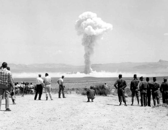 """Small Boy"" nuclear test, 1962, Nevada Test Site, Source: NNSA via WikiMedia Commons"
