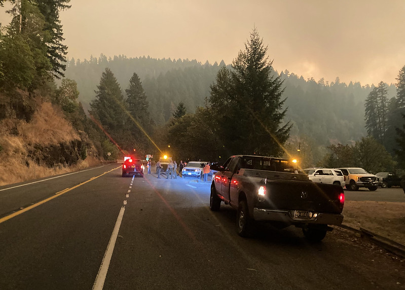 climate change driven fires force evacuations in Oregon