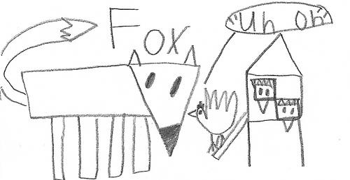 science fox guarding hen house