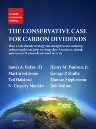 Conservative case for climate dividends climate change