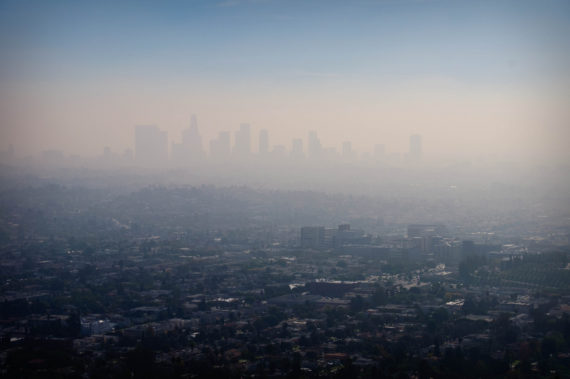 LA smog california pollution
