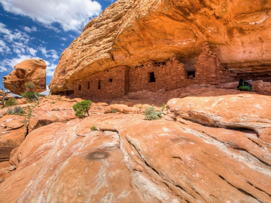 Cedar Mesa Citadel Ruins at Bears Ears national Monument