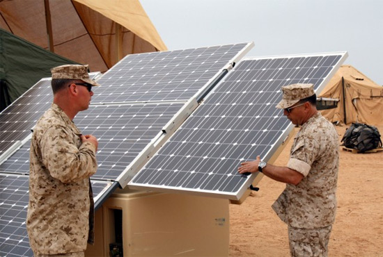 DOD military solar power
