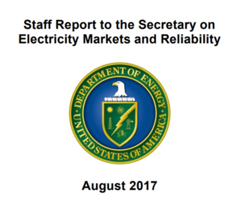 grid study by rick perry's energy department