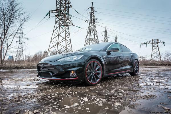 A modified Tesla Model S by Larte Design (Image: Car Revs Daily)