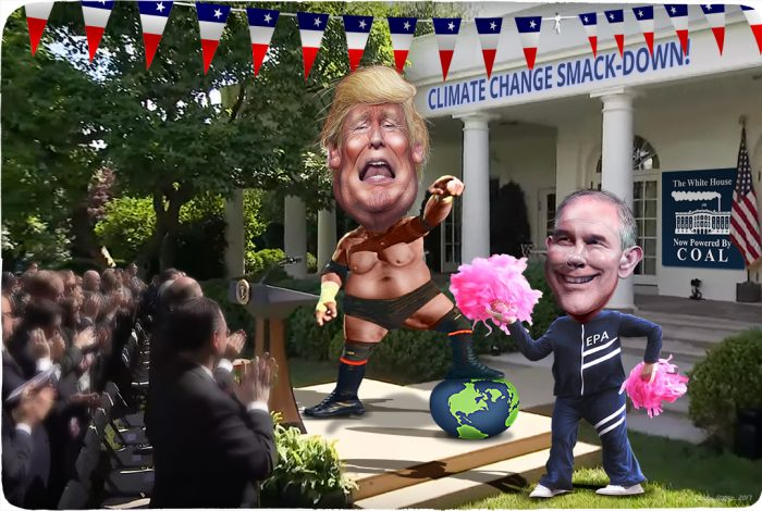 Trump and Pruitt vs climate change