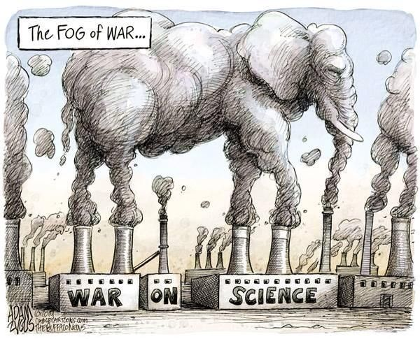 GOP war on science climate change by adam zygus buffalo news