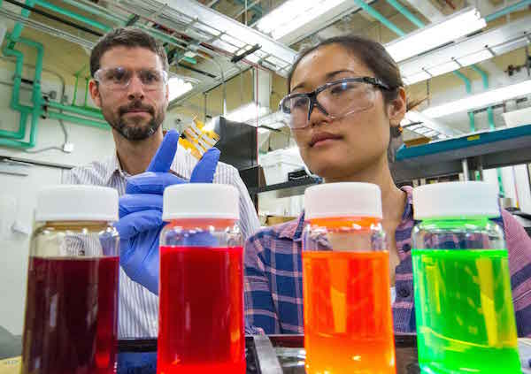 perovskite solar cell development