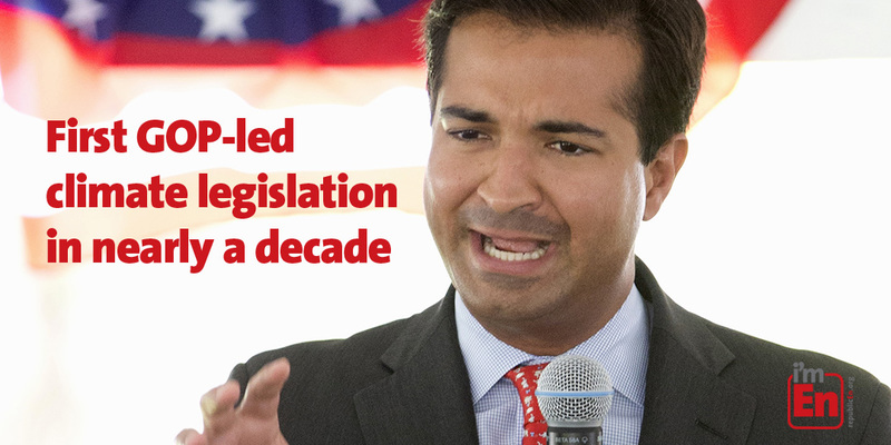 Carbon Tax: Curbelo's Market Choice Act is the first GOP climate solutions bill in a decade:
