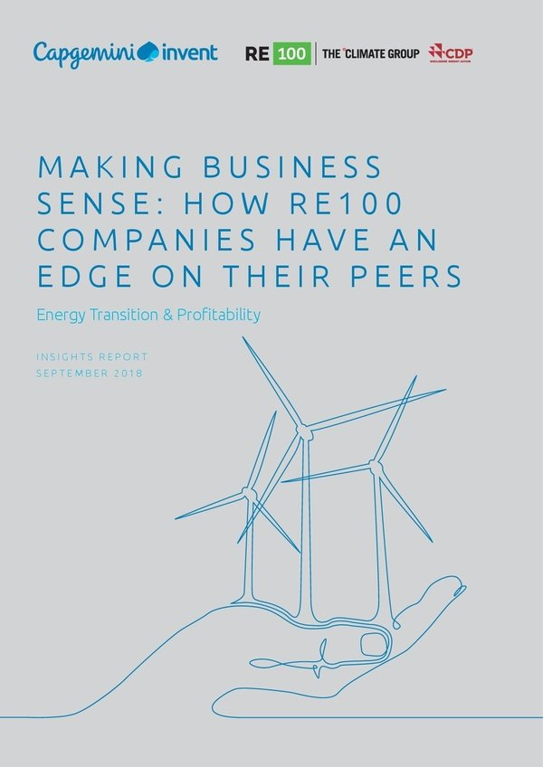 RE100 making business sense capgemi report