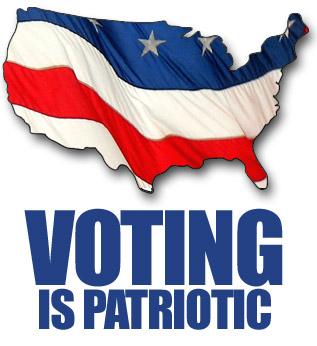 election 2018 voting is patriotic
