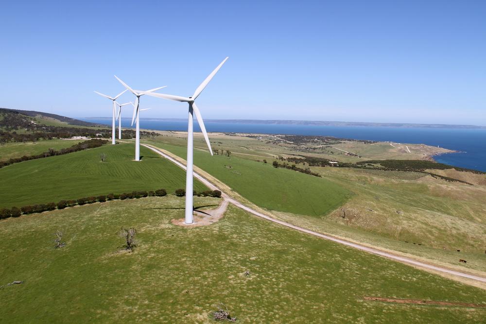 South Australia Wind farm - on track for 100% renewable energy