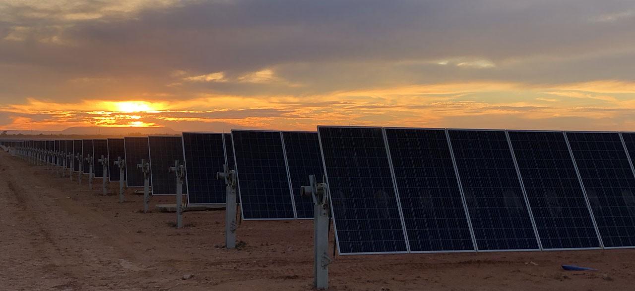 Bungala solar project, Australia