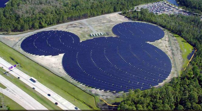 Disney Powers Up Epcot Center With New 270 Acre Solar Farm